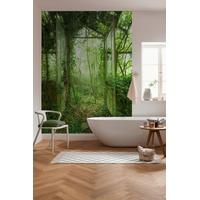 KOMAR Vliestapete Greenhouse glatt, Barock, Destroyed-Effekte, bedruckt, (4 St), lichtbeständig und wasserfest