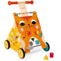 Janod J08005 Babylaufwagen Mehrfarben