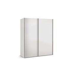 Express Möbel Schwebetürenschrank Budget 2 in weiß, B/T ca. 175 x 68 cm