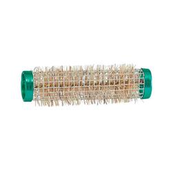 Mex pro Hair Borstenwickler Ø 15 mm Draht Grün (12 Stück)