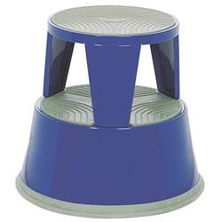 ALCO Rollhocker 895 blau Metall