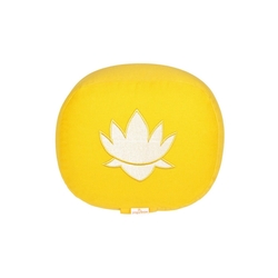 yogabox Yogakissen oval Lotus Stick BASIC gelb
