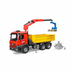 Bruder® Spielzeug-Kran Mercedes Benz Arocs Baustellen LKW rot