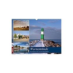 Urlaub in Warnemünde (Wandkalender 2021 DIN A3 quer)