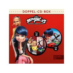 Miraculous - Miraculous-Hörspiel-Doppel-Box-Folgen 15+16 (CD)