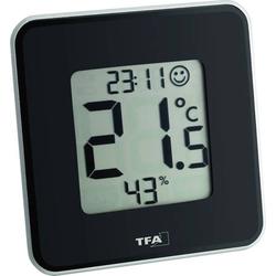 TFA Dostmann Style Thermo-/Hygrometer Schwarz