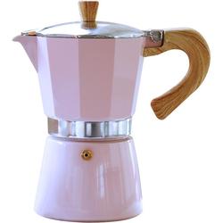 gnali & zani Espressokocher Venezia, Induktion, rosa