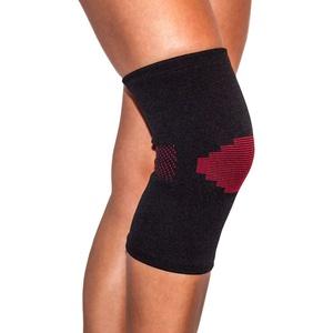 Knie-Bandage Schwarz-Rot