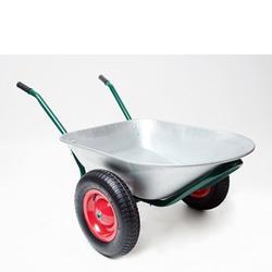 Schubkarre Schuttkarre Bauschubkarre Gartenschubkarre 2 Räder 80 Liter 150 kg