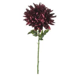 Kunstblume Kunstblume Chrysantheme mit biegsamen Stiel Chrysantheme, matches21 HOME & HOBBY, Höhe 64 cm rot