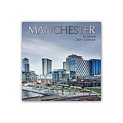 Manchester 2021 - 16-Monatskalender
