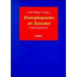 Energiesparen an Schulen als Buch von