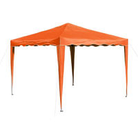 DEMA Faltpavillon 3 x 3 m orange
