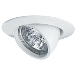 Premium EBL kippbar max. 50W 12V GU5,3 Weiß
