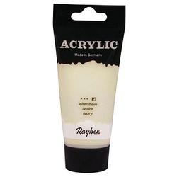 Rayher Acrylic Acrylfarben elfenbein 75,0 ml, 1 St.