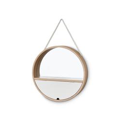Runder Spiegel mit Seil