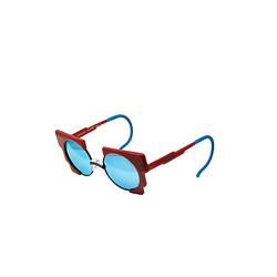 Retrosonnenbrille Oscar für Kinder Sonnenbrillen rot Gr. one size Jungen Baby