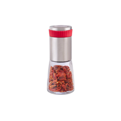 relaxdays Chilimühle Chilimühle mit Kräutermahlwerk
