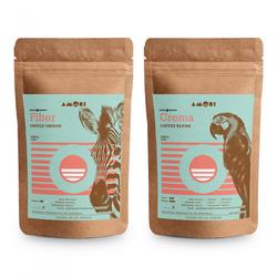 "Kaffeebohnen-Set ""Amori Kaffee Set"", 2 x 1 kg"