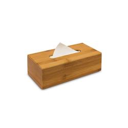 relaxdays Papiertuchbox Kosmetiktücherbox Bambus 24cm