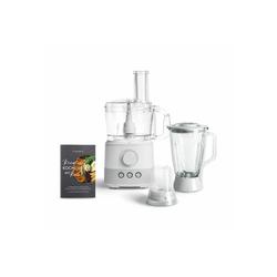 Springlane Küchenmaschine Kaia, 1000 W, 1.5 l Schüssel, Weiß weiß