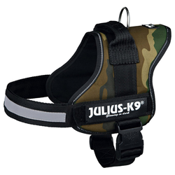 Julius-K9 Powergeschirr camouflage, Größe: Mini-Mini / S