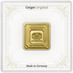 20 g Goldbarren Geiger original