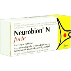 NEUROBION N forte überzogene Tabletten 20 St