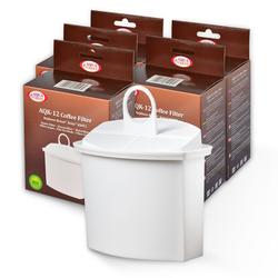 5x Wasserfilter für Braun Kaffeemaschinen, AquaCrest AQK-12,