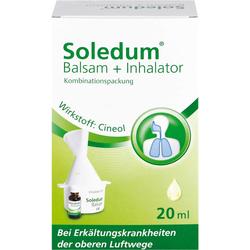 SOLEDUM Balsam flüssig mit Inhalator 20 ml