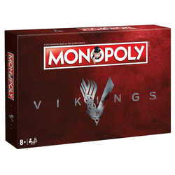 Winning Moves Spiel, Brettspiel Monopoly Vikings