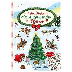 Mein Sticker-Adventskalender - Kalender
