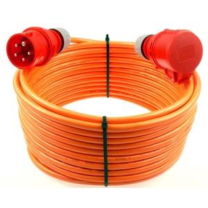 netbote24® CEE Starkstromkabel Verlängerungskabel 16A 400V Pur-Leitung H07BQ-F 5g1,5 Außen 30m