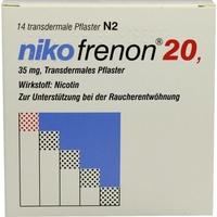 Riemser Pharma Nikofrenon 20 transdermale Pflaster 14 St.