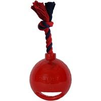 Zeus Bomber Bomb mit Griff Spielball für Hunde, schwarz,