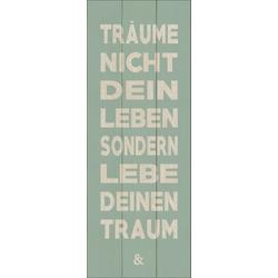 Holzbild TRÄUME & TRAUM Pro-Art