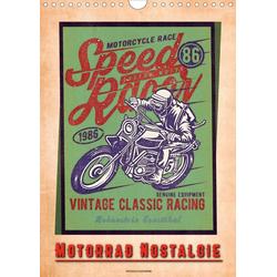 Motorrad Nostalgie (Wandkalender 2021 DIN A4 hoch)