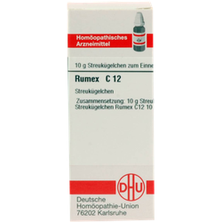 RUMEX C 12 Globuli 10 g