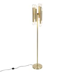 Vintage Stehlampe Gold 12-Licht-Facil