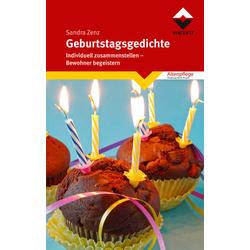 Geburtstagsgedichte als Buch von Sandra Zenz