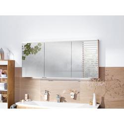 Spiegelschrank KB b bright puris spiegel 161 weiß hochglanz griff bei spiegelschränken