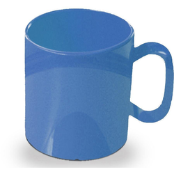 WACA Becher (4-tlg), 325 ml, Kunststoff blau