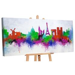 YS-Art Gemälde Stadt der Liebe II 164