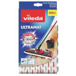 Vileda UltraMat Ersatzbezug, Ersatzbezug zum UltraMat System, 1 Packung = 1 Stück