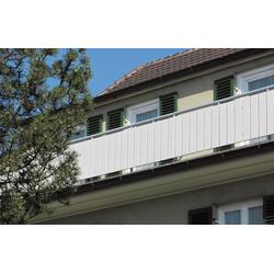 Baukulit VOX Abdeckprofil Balkonprofil, für Balkon, Zaun oder Geländer 15 cm x 75 cm x 100 cm