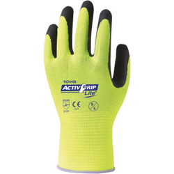 Arbeitshandschuh ACTIVE GRIP Lite nahtlos.Latex-be VPE: 12