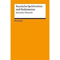 Russische Sprichwörter und Redensarten  Russisch/Deutsch - Buch
