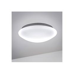 B.K.Licht LED Deckenleuchte, LED Bad Deckenlampe Design Deckenstrahler IP44 Badezimmer Küche Flur