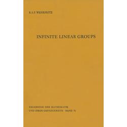 Infinite Linear Groups als Buch von Bertram Wehrfritz
