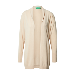 UNITED COLORS OF BENETTON Damen Cardigan beige, Größe M, 5067520